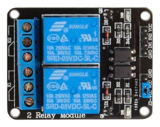 SainSmart 2-Channel 5V Relay Module (NOT tested by us)