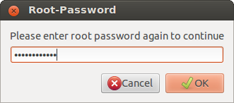 Wiconnect Root Password confirmation window